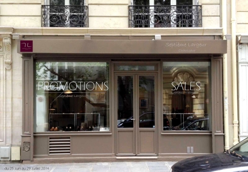 SALES/PROMOTIONS SUMMER 2014